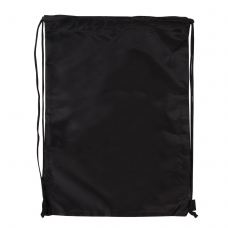 Сумка для обуви BRAUBERG, прочная, на шнурке, черная, 42x33 см, 227143