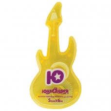 Корректирующая лента ЮНЛАНДИЯ 'Гитара' 5 мм х 6 м, корпус желтый, блистер, 227798
