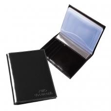 Бумажник водителя BEFLER 'Classic', натуральная кожа, тиснение, 6 пластиковых карманов, черный, BV.20.-1
