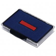Подушка сменная для TRODAT 5460, 5465, сине-красная, 72809