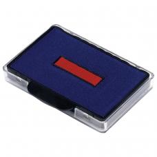Подушка сменная для TRODAT 5480, 5485, сине-красная, 74521
