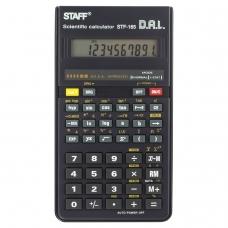 Калькулятор STAFF инженерный STF-165, 128 функций, 10 разрядов, 143х78 мм, 250122