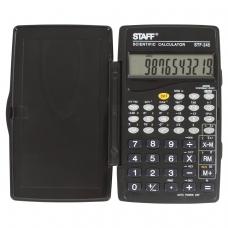Калькулятор STAFF инженерный STF-245, 128 функций, 10 разрядов, 120х70 мм, 250194