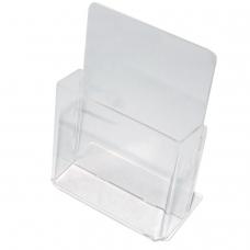 Подставка для рекламных материалов настольная, для узких буклетов, 115х32 мм формат 1/3 А4, №106