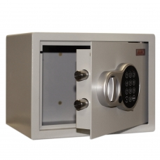 Сейф офисный мебельный облегченной конструкции AIKO 'T-23 EL', 230х300х250 мм, 5,5 кг, электронный замок, крепление к стене/полу