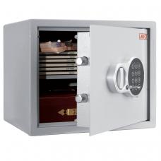Сейф офисный мебельный облегченной конструкции AIKO 'T-28 EL', 280х340х295 мм, 8 кг, электронный замок, крепление к стене, полу