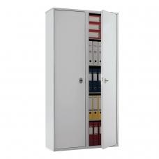 Шкаф металлический для документов ПРАКТИК 'SL-185/2', 1800х920х340 мм, 2 отделения, 85 кг, сварной