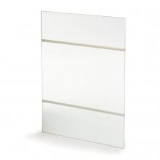 Подставка для рекламных материалов BRAUBERG, А4, вертикальная, 210х297 мм, самоклеящаяся, настенная, оргстекло, 290432