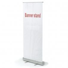 Стенд мобильный для баннера 'Роллскрин 280', размер рекламного поля 800х2000 мм, алюминий, 290521