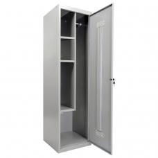 Шкаф металлический хозяйственный ПРАКТИК 'LS-11-50', 2 отделения, 1830х500х500 мм, 26 кг, разборный