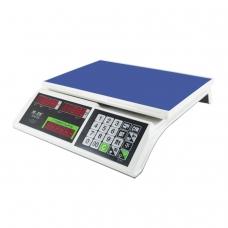 Весы торговые MERCURY M-ER 326-15.2 LED 0,05-15 кг, дискретность 2 г, платформа 325x230 мм, без стойки