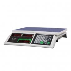 Весы торговые MERCURY M-ER 326-32.5 LED 0,1-32 кг, дискретность 5 г, платформа 325x230 мм, без стойки
