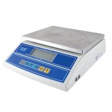 Весы фасовочные MERCURY M-ER 326FL-15.2LCD 0,05-15 кг, дискретность 2 г, платформа 280x235 мм, без стойки