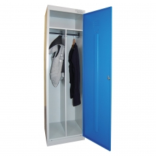 Шкаф металлический для одежды ШРЭК-21-530, 2 отделения, 1850х530х500 мм, разборный