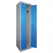 Шкаф металлический для одежды 'ШРЭК-22-530', двухсекционный, 1850х530х500 мм, разборный