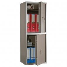 Сейф офисный AIKO 'ТМ-120/2Т', 1200х440х355 мм, 52 кг, 2 отделения, ключевые замки, трейзер