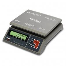 Весы фасовочные MERCURY M-ER 326AFU-6.01, LCD 0,02-6 кг, дискретность 2 г, платформа 255x205 мм, 326AFU-6.01 LCD