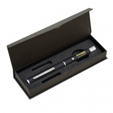 Детектор банкнот MERCURY D-110 ANTISTOKS, просмотровый, антитокс, в виде ручки в футляре, черный