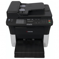 МФУ лазерное KYOCERA FS-1025MFP принтер, сканер, копир, А4, 25 стр./мин., 20000 стр./мес., ДУПЛЕКС, с/карта, АПД, без кабеля USB