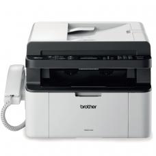 МФУ лазерное BROTHER MFC-1815R принтер, копир, сканер, факс, А4, 20 стр./мин, 10000 стр./мес., АПД б/к USB