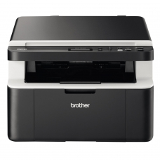 МФУ лазерное BROTHER DCP-1612WR принтер, сканер, копир, А4, 20 стр./мин, 10000 стр./месяц, Wi-Fi без кабеля USB