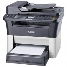 МФУ лазерное KYOCERA FS-1125MFP принтер, копир, сканер, факс, А4, 25 стр./мин, 20000 стр./мес, ДУПЛЕКС, АПД, с/к б/к USB