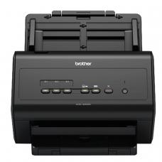 Сканер потоковый BROTHER ADS-3000N, А4, 1200х1200, 50 стр./мин, 5000 стр./день, АПД, сетевая карта кабель USB в комплекте, ADS3000NUX1