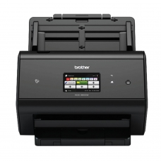 Сканер потоковый BROTHER ADS-3600W, А4, 1200х1200, 50 стр./мин, 5000 стр./день, АПД, сетевая карта, Wi-Fi каб USB в комп, ADS3600WUX1