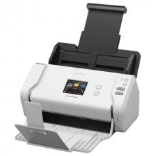 Сканер потоковый BROTHER ADS-2700W, А4, 600х600, 35 стр./мин., АПД, сетевая карта, Wi-Fi с кабелем USB, ADS2700WTC1