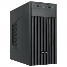 Системный блок VECOM T601 MT, INTEL Celeron G4900, 4 ГБ, 500 ГБ, Windows 10 Home, черный