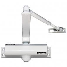 Доводчик FALCON EYE FE-B2W на дверь 25-45 кг, белый, 208639