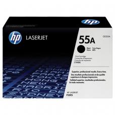 Картридж лазерный HP CE255A LaserJet P3015d/P3015dn/P3015x, №55А, оригинальный, ресурс 6000 стр.