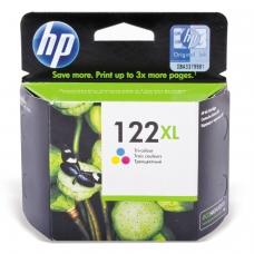 Картридж струйный HP CH564HE Deskjet 1050/2050/2050S, №122XL, цветной, оригинальный, 330 стр.