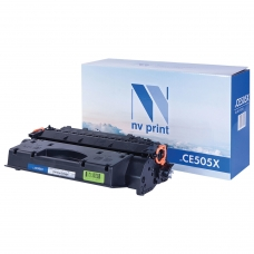 Картридж лазерный NV PRINT NV-CE505X для HP LaserJet P2055, ресурс 6500 стр.