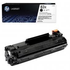 Картридж лазерный HP CF283X LaserJet Pro M201/M225, черный, оригинальный, ресурс 2200 стр.