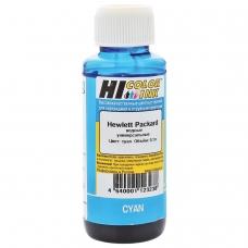 Чернила HI-COLOR для HP универсальные, голубые, 0,1 л, водные, 15070103971U