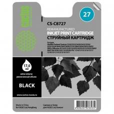Картридж струйный CACTUS CS-C8727 для HP Deskjet 3320/3520/5650/5850, черный, 17 мл