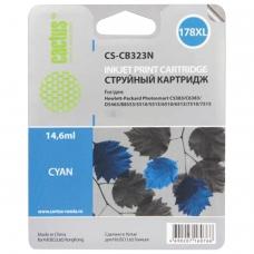 Картридж струйный CACTUS CS-CB323/N для HP Photosmart D5400, голубой, 14,6 мл, CS-CB323N