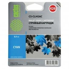 Картридж струйный CACTUS CS-CLI426C для CANON Pixma MG5140/MG5240/MG6140/MG8140, голубой