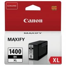 Картридж струйный CANON PGI-1400XLВК МВ2040/МВ2340, черный, оригинальный, ресурс 1200 стр., 9185B001