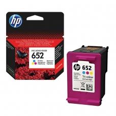 Картридж струйный HP F6V24AE DeskJet 2135/3635/3835/4535/4675/1115, №652, цветной, оригинальный ресурс 200 стр.