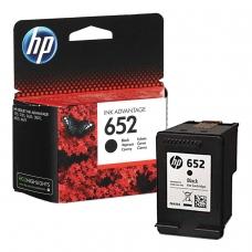 Картридж струйный HP F6V25AE DeskJet 2135/3635/3835/4535/4675/1115, №652, черный, оригинальный, ресурс 360 стр.