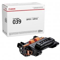 Картридж лазерный CANON 039 i-SENSYS LBP 351x/352x, ресурс 11000 стр., оригинальный, 0287C001