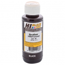 Чернила HI-BLACK для BROTHER универсальные, черные, 0,1 л, водные, 1507010392U