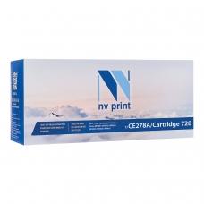 Картридж лазерный NV PRINT NV-CE278A/728 для HP/CANON LJ P1566/P1606/ MF4410/4430, ресурс 2100 стр., NV-CE278A/Canon