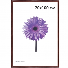 Рамка премиум 70х100 см, дерево, багет 26 мм, 'Linda', махагон, 0065-70-0019