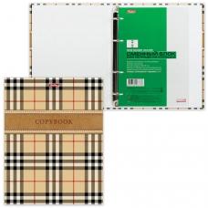 Тетрадь на кольцах, 240 л., HATBER, ламинированная обложка, 'Шотландка', 240ТК5B1 12388, T158494