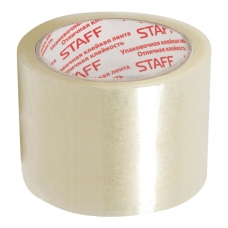 Клейкая лента упаковочная 72 мм x 66 м, прозрачная, 40 мкм, STAFF, 440088