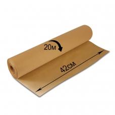 Крафт-бумага в рулоне, 420 мм х 20 м, плотность 78 г/м2, BRAUBERG, 440144