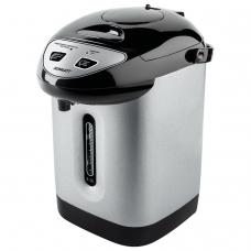 Термопот SCARLETT SC-ET10D50, 3,3 л, 750 Вт, 1 температурный режим, 3 режима подачи воды, сталь, черный/серебристый, SC - ET10D50